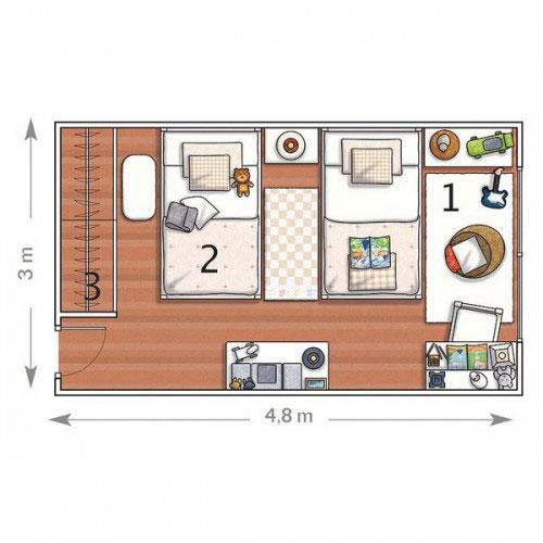 15 Qm Schlafzimmer Einrichten: Çocuk Odası Dekorasyonu